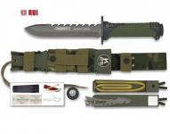 Poignard RUI tactical vert THUNER II