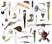 17 - Porte clef  &  stylo
