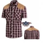 Chemise Western Francisco short