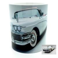 Mug  voiture américaine blanche