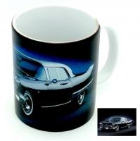 Mug  voiture américaine noir