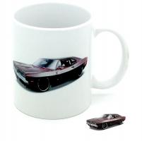 Mug  voiture américaine Bordeaux