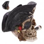 Crane tête de mort  Pirate Cigare