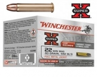 Cartouches 22 Magnum Super X BLINDE  boite de 150