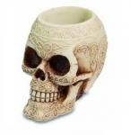 Pot à crayon crâne celtique de 10 cm