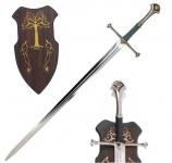 Epée d'ANDURIL avec socle bois