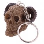 Porte clés crâne celtique belier