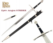 Epée Aragon Strider + Fourreau  Le Seigneur des Anneaux