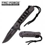 Couteau Pliant de poche à paracorde  Lame de 9 cm