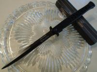 Couteau Pliant automatique  Big Boy Stiletto NoirLame de 14.5 cm