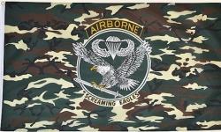 Drapeau nylon US Airborne