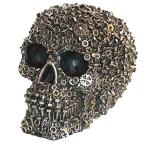 Crâne tête de mort écrous