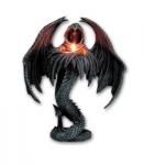 Bougeoir fantome gothique de 30 cm