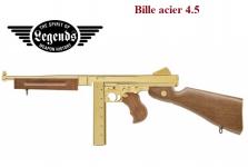 Pistolet Legends M1A1  Thomson 1940  Fulle auto  Cal. 4.5 Bille Acier