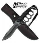 Poing américain couteau  lame fixe de 17.5 cm