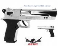 Pistolet de défense Mod. Désert Eagle  Nickel Chrome