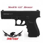 Pistolet de défense Mod.17  noir Cal. 9 mm