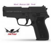 Pistolet de défense Mod.Baron HK  noir  Cal. 9 mm