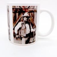 Mug « John Wayne image vintage »