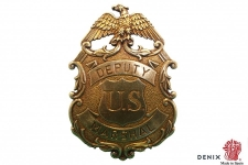 Badge de Marshalle Deputy doré  avec aigle