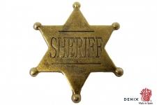 Etoile Sheriff 4.5 cm 6 pointes