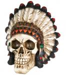 Crâne tête de mort indien