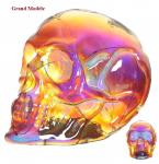 Crâne tête de mort Lumineux à Led  Effet Iridescent GM