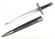 Dague Templière couronne de 34 cm