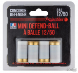 Blister de 4 Cartouches Mini Defend-ball
