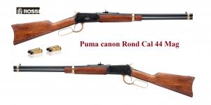 Carabine  Rossi Puma Cal 44  Mag  version Gold  à levier sous garde