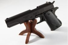 Réplique Pistolet  Mod 45 /1911 Noir  plaquette  noir quadrillé