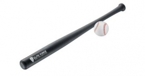 Batte de Baseball Anthracite Elite Force