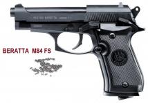 Pistolet Co2  Beretta M84 FS   Cal 4.5  BB