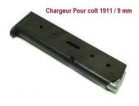 Chargeur seul pour Pistolet Colt 1911  Mod.96  en 9 mm