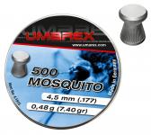 Boite de 500 Plombs mosquito Plat 4.5 mm