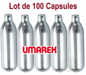 Lot de 100 capsules Co2 12 gr Umarex