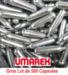 Gros lot de 500 capsules Co2 12 gr Umarex