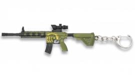 Porte clé fusil d'assaut