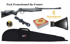 Pack  Carabine à Plombs BROWNING  
