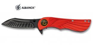 Couteau pliant plume et aigle  lame de 8 cm