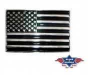 Boucle de Ceinture  drapeau americain email