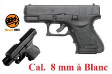 Pistolet  Mini GAP  8 mm réplique du mini Glock