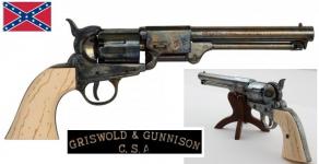 Réplique revolver Confédéré de 1860