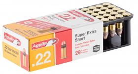 Cartouches 22LR AGUILA  Extra Short   boite de 50
