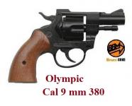 Revolver Olympic Cross Bois  Cal. 9mm  380 uniquement