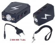 Shocker  Mod 101 triangulaire + Led    ( dit Tazer ) de 2 000 000 Volts
