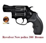 Revolver New police  380 Bronze  à blanc uniquement