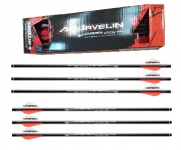 Pack de 6  Flèches carbone Airjavelin  pour Fusil Arbalète
