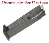 Chargeur seul pour Pistolet Gap 17   en 8 mm