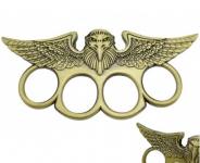 Poing Américain Aigle US  vert bronze